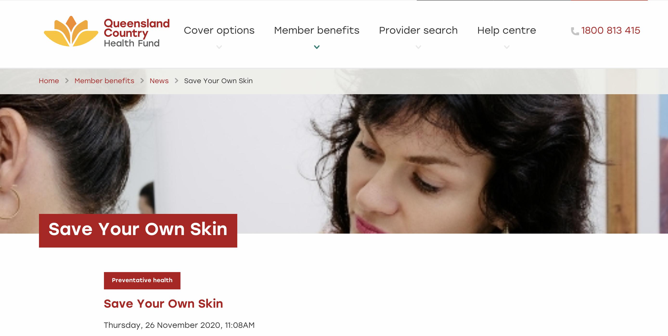 skin cancer article Dr Helena Rosengren