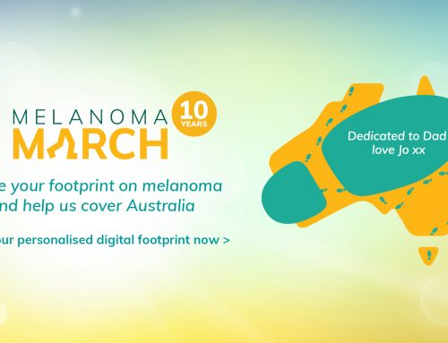 Melanoma March: there's still time to get involved
